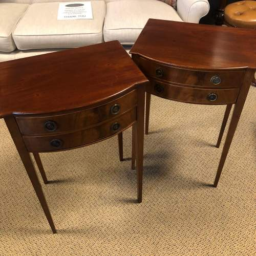 Pair of Edwardian Bedside Cabinets image-2