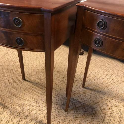 Pair of Edwardian Bedside Cabinets image-1