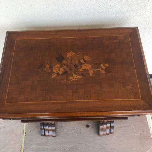 Edwardian Inlaid Nest of Tables image-2