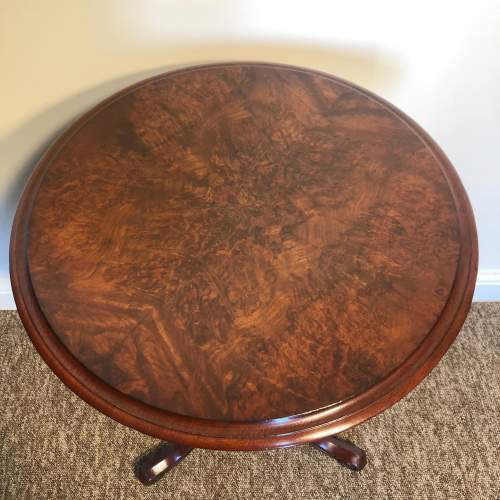 Victorian Burr Walnut Table image-2
