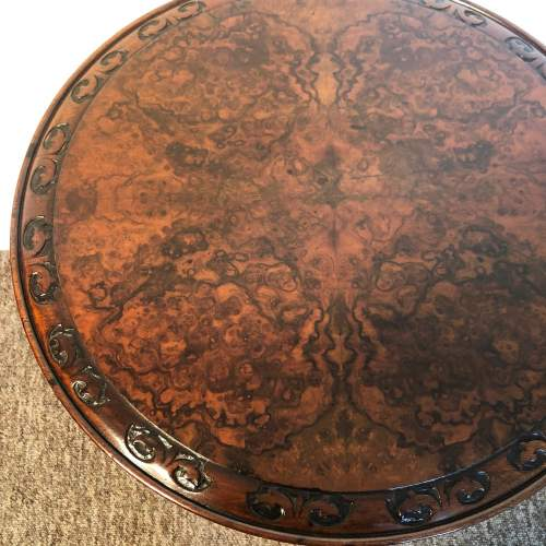 Victorian Burr Walnut Occasional Table image-2