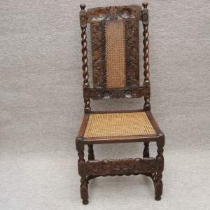 17th Century Walnut Chair