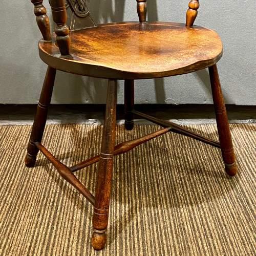 19th Century Queen Victoria Diamond Jubilee Commemorative Chair image-4
