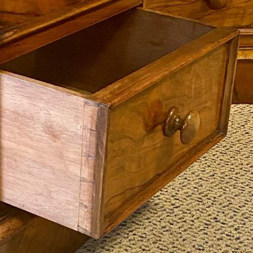 Pair of Victorian Burr Walnut Bedside Cabinets image-6