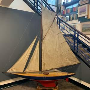 1950s Model Racing Yacht