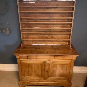 French Vintage Pine Dresser