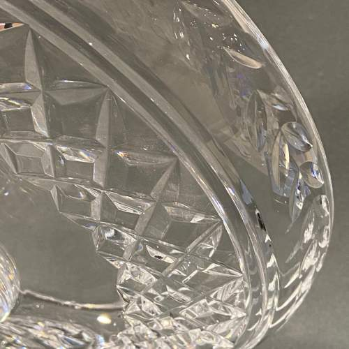 Stuart England Cut Crystal Tazza image-3