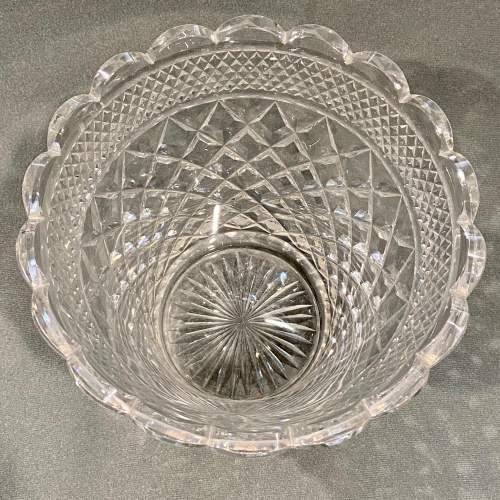 Large Cut Lead Crystal Vase image-3
