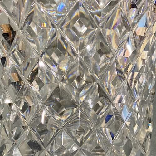 Large Cut Lead Crystal Vase image-4