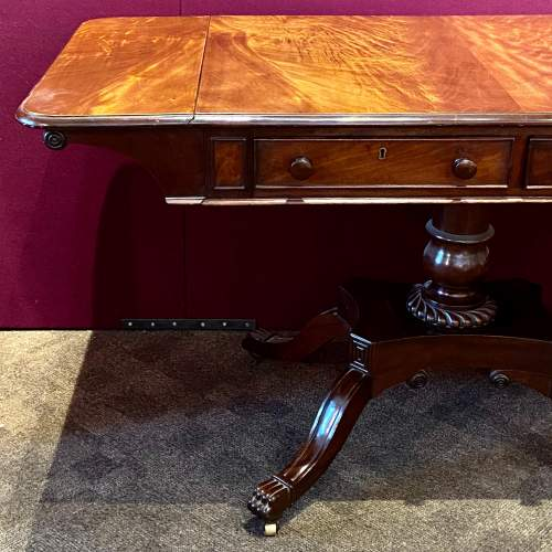 Victorian Mahogany Sofa Table by R.Wright of Hull image-2