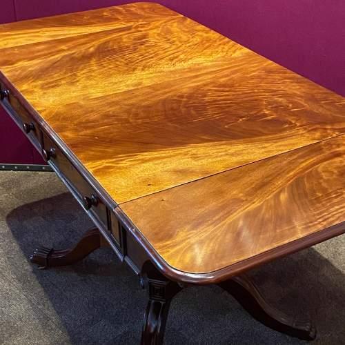 Victorian Mahogany Sofa Table by R.Wright of Hull image-4