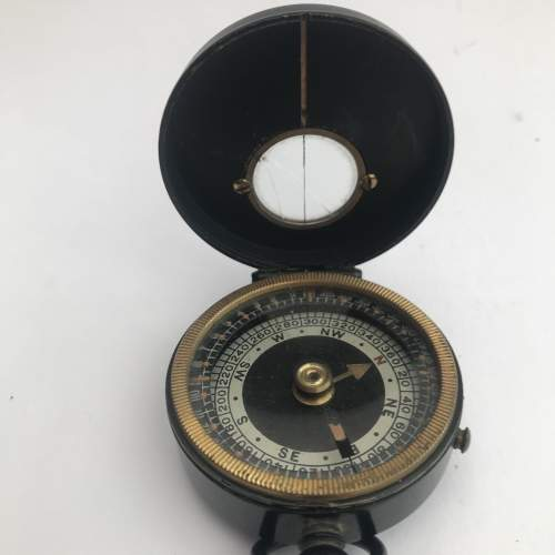 Half Hunter Compass and Case Circa 1914 -18 image-1
