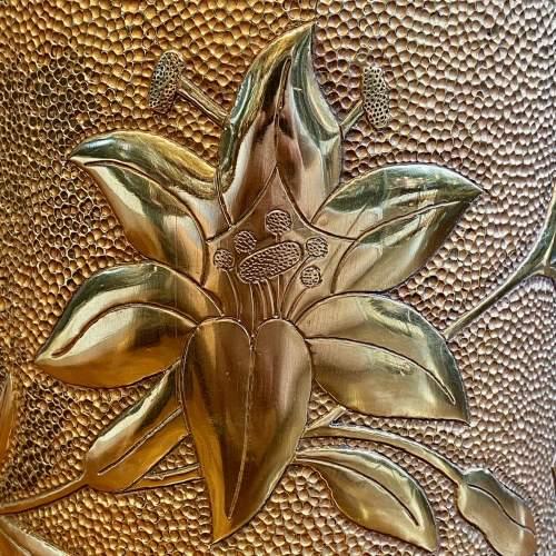 Large Trench Art Vase image-2