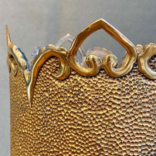 Large Trench Art Vase image-5