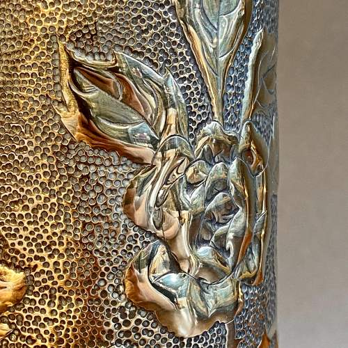 Pair of Trench Art Vases image-2
