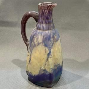 20th Century Daum Glass Art Deco Pitcher