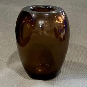 Early 20th Century Schneider Glass Vase
