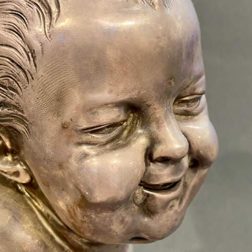 19th Century Jean-qui-rit Smiling Baby Bust image-3