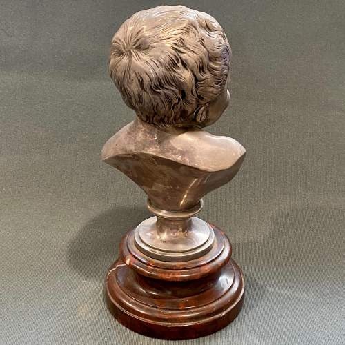 19th Century Jean-qui-rit Smiling Baby Bust image-4