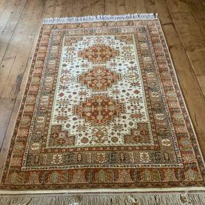 Superb Hand Knotted Turkish Kazak Rug In Stunning Colours