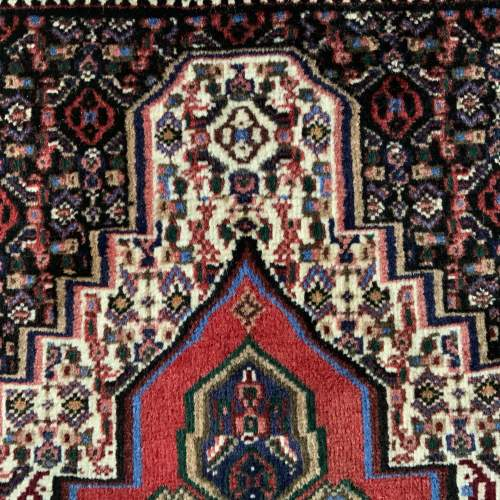 Superb Quality Hand Knotted Persian Rug Sennah Stunning Colours image-3
