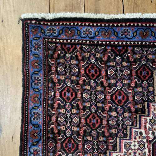 Superb Quality Hand Knotted Persian Rug Sennah Stunning Colours image-4