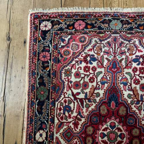 Superb Quality Hand Knotted Persian Rug Jozan Floral Medallion image-3