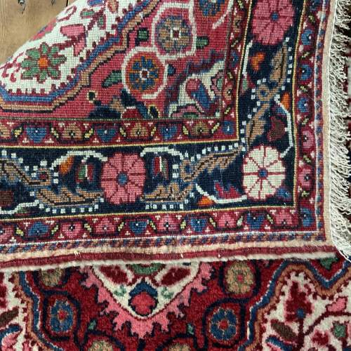 Superb Quality Hand Knotted Persian Rug Jozan Floral Medallion image-4
