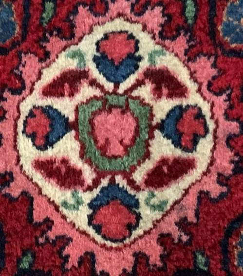 Superb Quality Hand Knotted Persian Rug Jozan Floral Medallion image-6