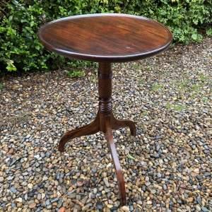 Early 19th Century Mahogany Tripod Table