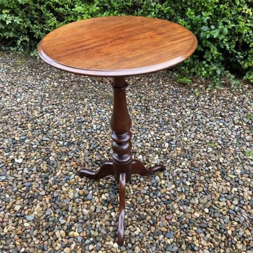 19th Century Mahogany Tripod Table image-2