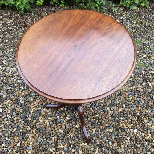 19th Century Mahogany Tripod Table image-3