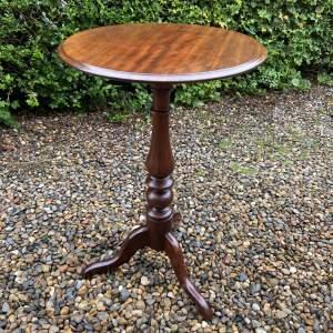 19th Century Mahogany Tripod Table