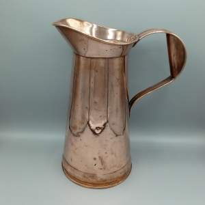 Large 19th Century Copper Jug