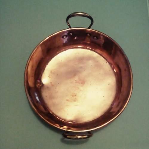 Large 19th Century Copper Pan image-5