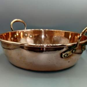 Large 19th Century Copper Pan