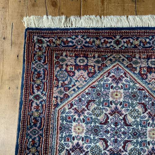 Lovely Old Hand Knotted Persian Rug Bidjar Unusual Colours image-3