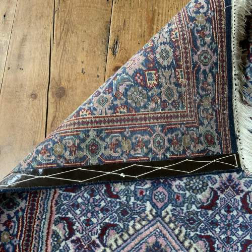 Lovely Old Hand Knotted Persian Rug Bidjar Unusual Colours image-4