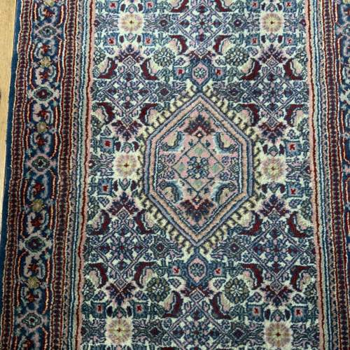 Lovely Old Hand Knotted Persian Rug Bidjar Unusual Colours image-5