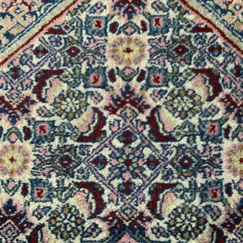 Lovely Old Hand Knotted Persian Rug Bidjar Unusual Colours image-6
