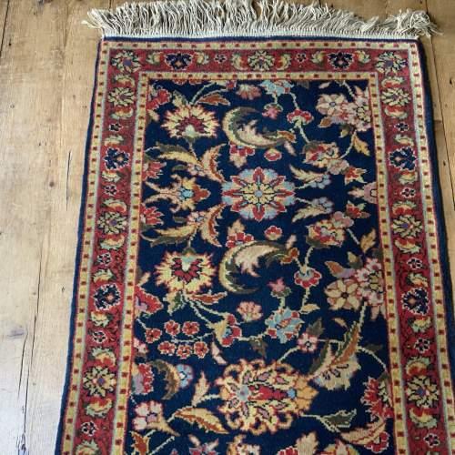 Superb Hand Knotted Rumanian Tabriz Runner Floral All Over Design image-3