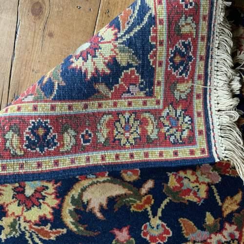 Superb Hand Knotted Rumanian Tabriz Runner Floral All Over Design image-4