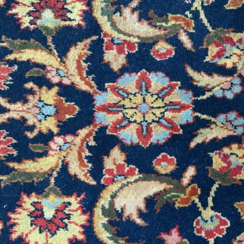 Superb Hand Knotted Rumanian Tabriz Runner Floral All Over Design image-5