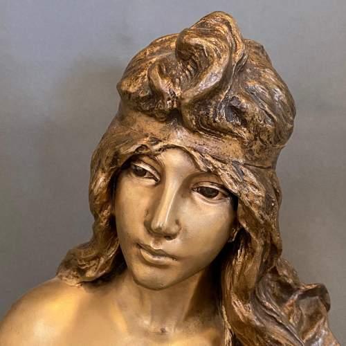 20th Century Selika by Villanis Bronze Bust image-4