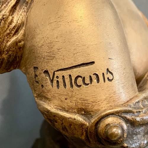 20th Century Selika by Villanis Bronze Bust image-5