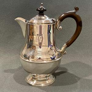 Mid 20th Century Silver Coffee Pot