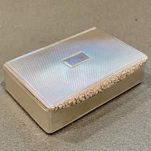 William IV Silver Snuff Box