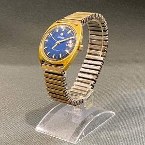 Mid 20th Century Gold Plated Automatic Swiss Roamer Watch