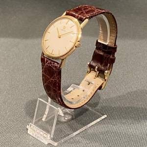 1960s Vintage 9ct Yellow Gold Omega Gentlemans Watch