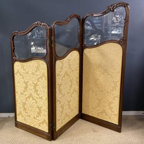 Fine 19th Century Carved and Shaped Walnut Screen image-6